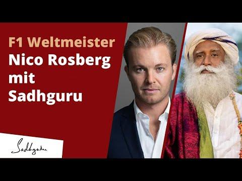 F1 Weltmeister & Unternehmer @Nico Rosberg mit Sadhguru