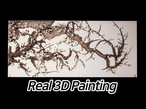 3D펜으로 그림 그리기