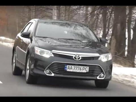 Toyota Camry 2.5, 2016 г. – 4 серия: Подробный тест-драйв