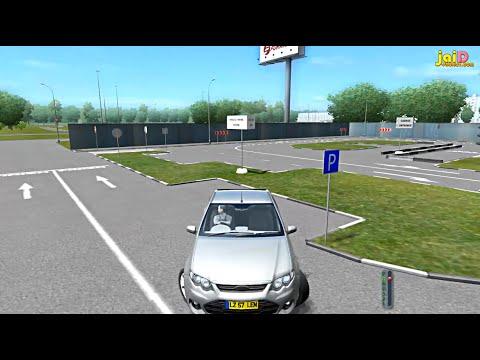 สอนขับรถ ถอยหลังเข้าซอง (ท่าสอบ) , ถอยหลังเข้าจอดด้านซ้าย