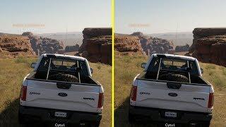 The Crew 2 PS4 Pro vs Xbox One X Graphics Comparison