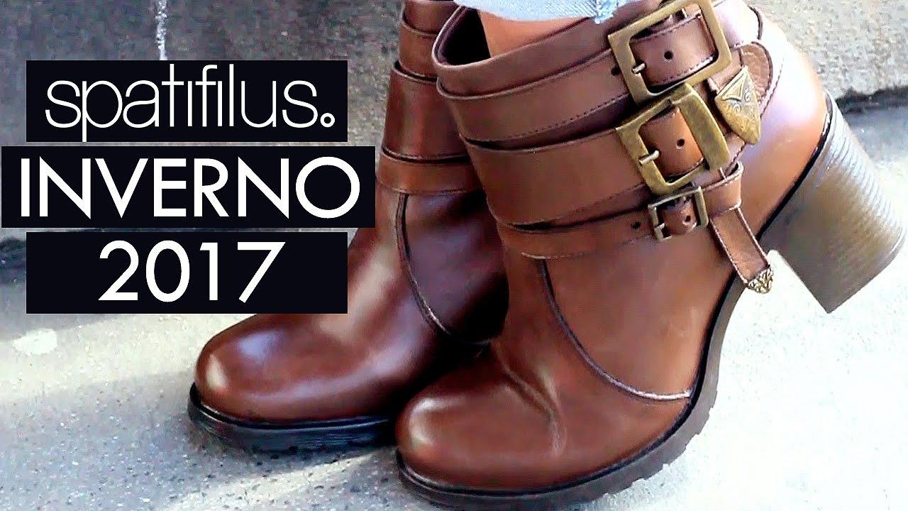 99d0cb3d2 Sapatos Moda Inverno 2017  Sapatos femininos Moda Inverno 2017 - Botas -  Spatifilus