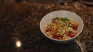 Sweet White Corn Salad : Divine Dishes