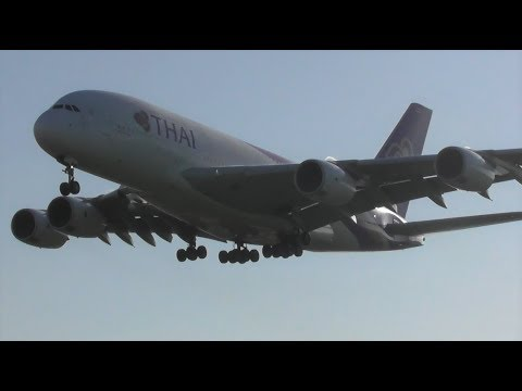 Early Morning Heavy Arrivals at London Heathrow Airport, LHR | 09-05-18