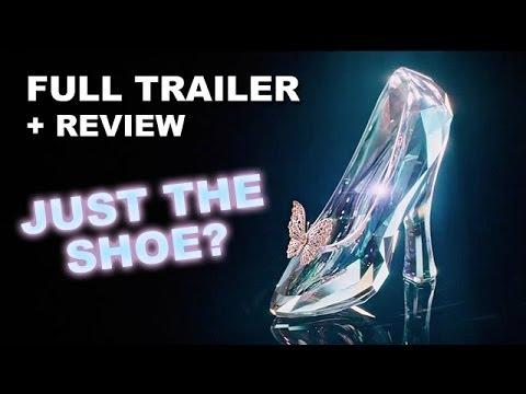 Cinderella 2015 Official Teaser Trailer + Trailer Review : HD PLUS