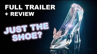 Cinderella 2015 Official Teaser Trailer + Trailer Review : HD PLUS