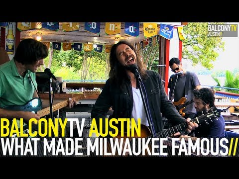 WHAT MADE MILWAUKEE FAMOUS - DOWN (BalconyTV)