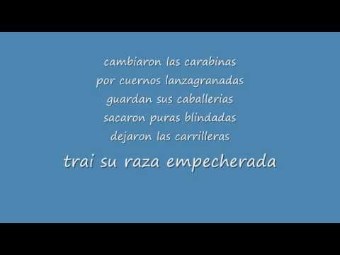Estrategia De Guerra By Voz De Mando (With Lyrics)