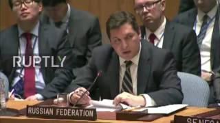 UN: Adopting UNSC Idlib draft