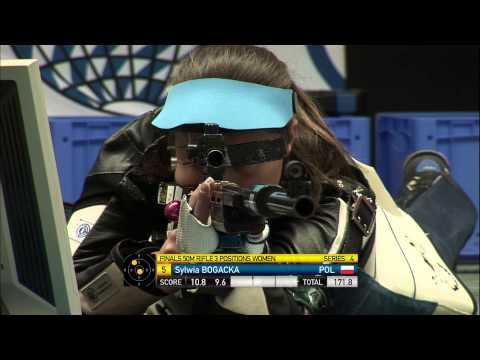50m Women's Rifle 3 Positions final - Munich 2013 ISSF World Cup