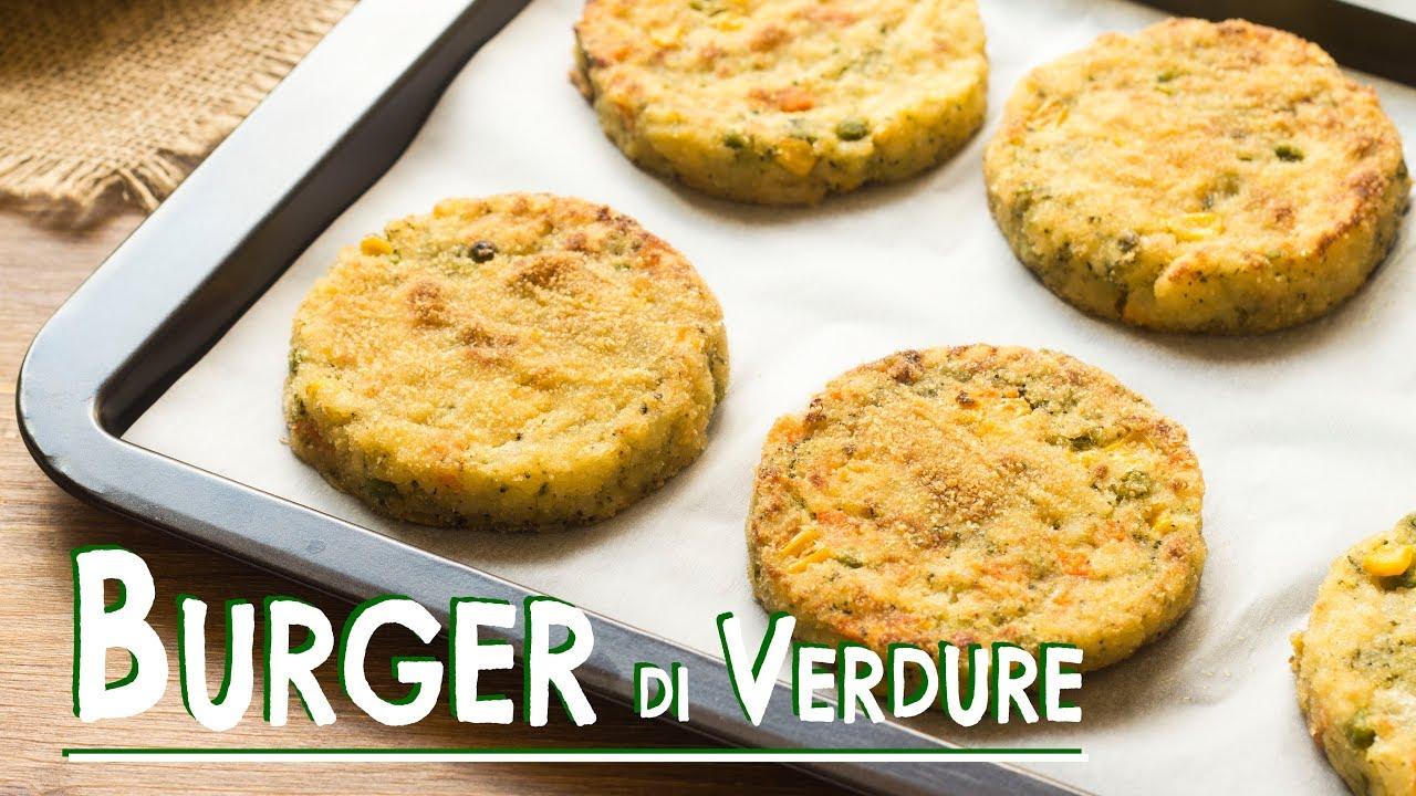 Hamburger di Verdure Senza Uova | Ricetta Facile e Veloce | 55Winston55 - YouTube
