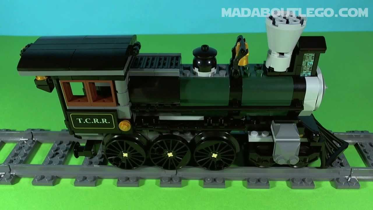 LEGO Lone Ranger Constitution Train Chase 79111 - YouTube