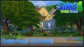 The Sims 4 Speed Build - Fairytale Cottage