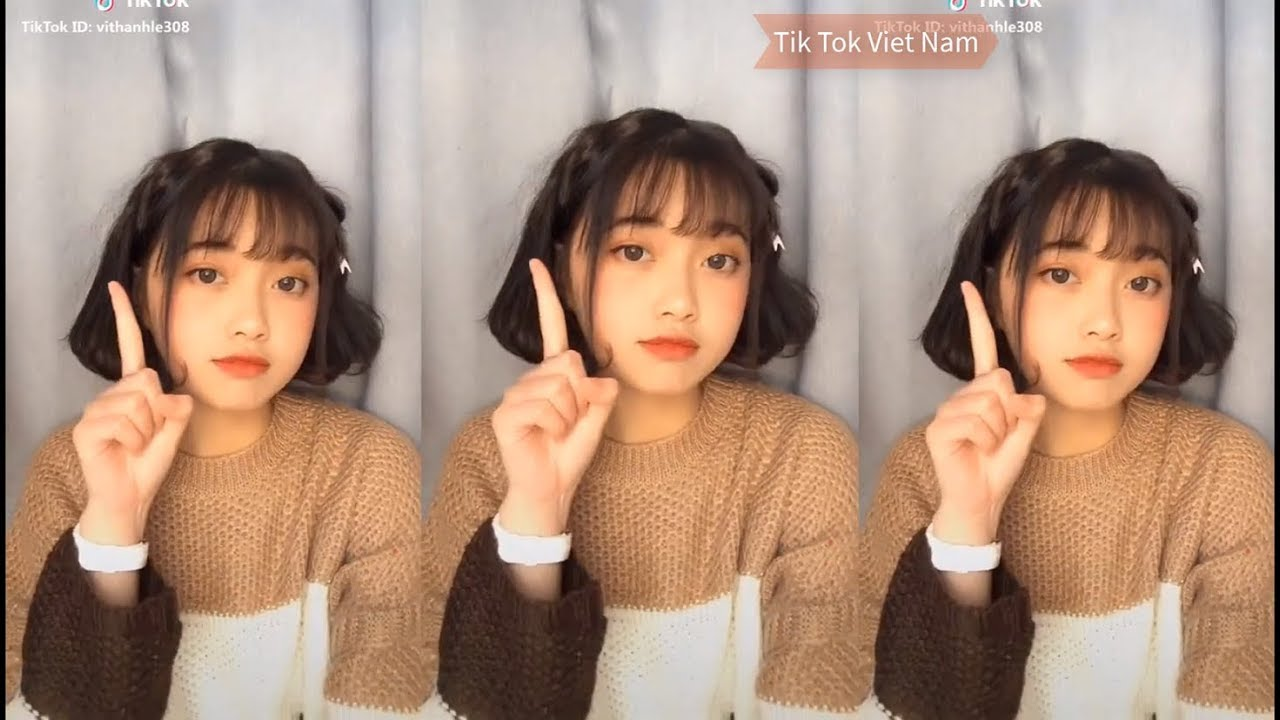 Tik Tok Việt Nam ❤Top gái xinh tik tok – Phần 12 ❤ Con gái tóc ngắn auto xinh