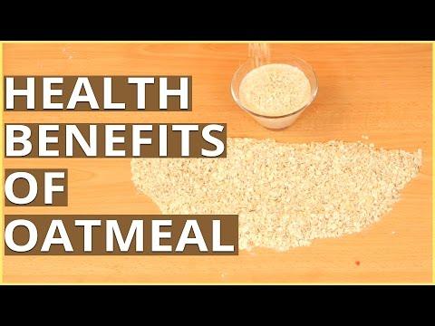 Top 10 HEALTH BENEFITS OF OATMEAL - Healthy Food