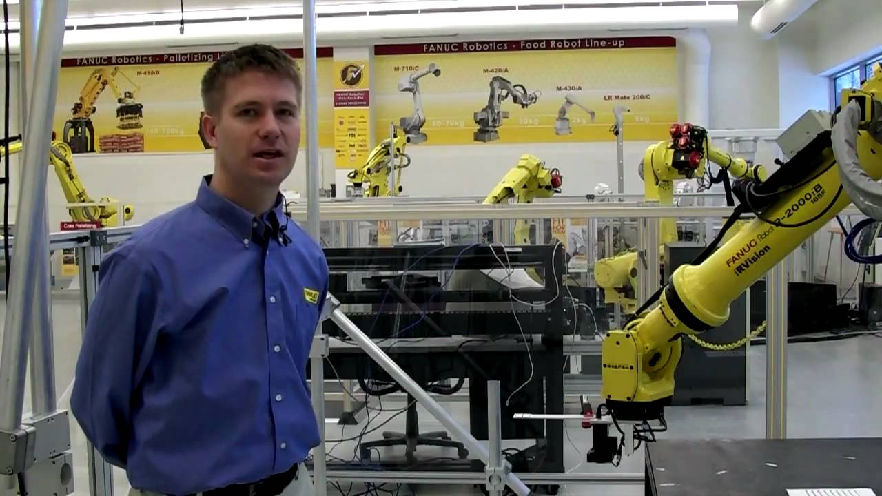 Robot Vision Grid Calibration - FANUC Robotics iRVision