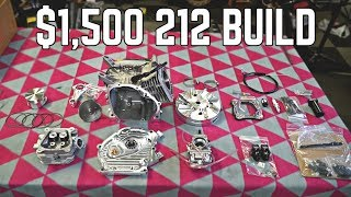 10,000 RPM 212cc Build | 20+ HP, Stage 4+
