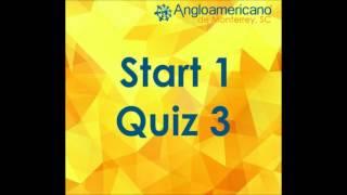 Start 1 Quiz 3 Unit 5-6