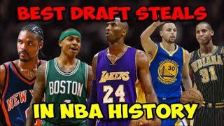 The BEST NBA Draft Steals of the Past 40 Years! (1978-2018)