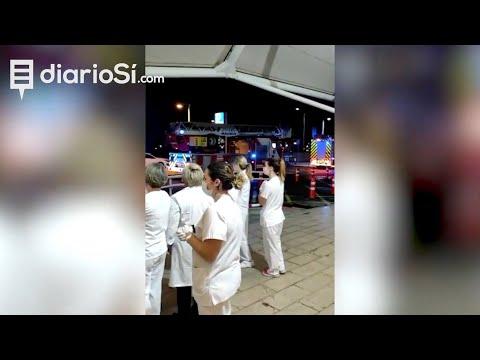 Emotivo homenaje a los héroes del coronavirus en Cartagena