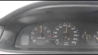 Mazda 626 GE FS acceleration on 4th gear