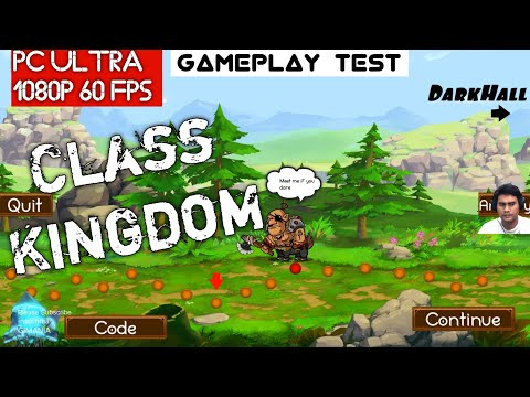 Class Kingdom Gameplay PC Ultra 1440P GTX 1080Ti i7 4790K Test Indonesia - 동영상