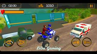 Motorbike Taxi Highway Traffic Moto Driver 2019 - Gameplay Android game.