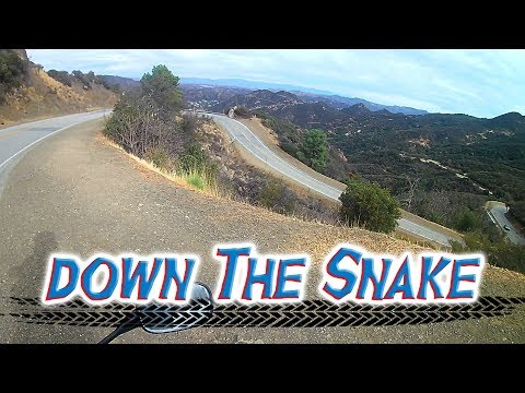 Moto Corner...Motorcycle Ride Down The Famous Snake, Mulholland Highway