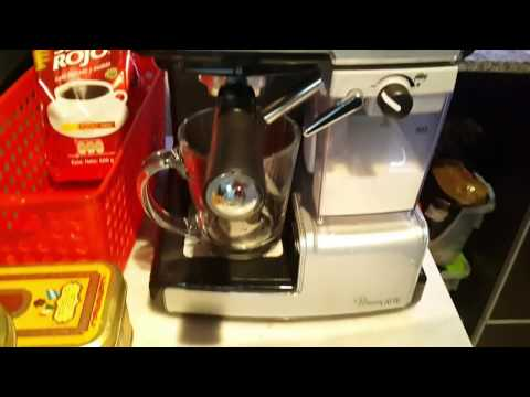Capuccino Easy Way in Oster PrimaLatte / Mr Coffee cafe barista