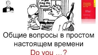 Общие вопросы в простом настоящем времени 'Do you...?'