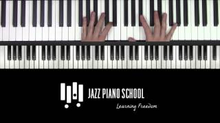 Jazz Piano School Podcast Ep:46 - Everything Comping Part 1