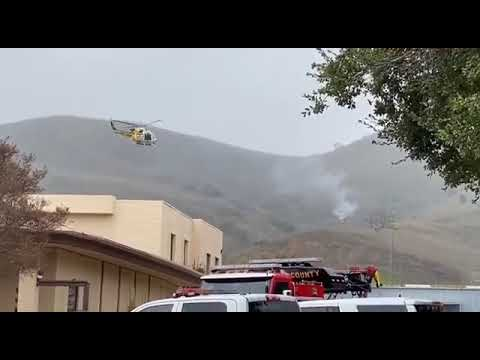 Волинські Новини: Місце аварії літака Кобі Брайанта | Волинські Новини
