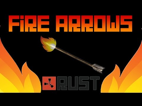 IT'S RAINING FIRE ARROWS - Rust Naked Bow Army
