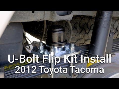 Tacoma U-Bolt Flip Kit & Bump Stop Install