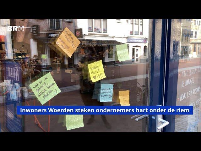 Inwoners Woerden steken ondernemers hart onder de riem