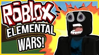 SENDO BULINADO NO ELEMENTAL WARS! | Roblox