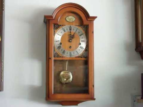 Haid Tradition Tempus Fugit Small Wall Clock Westminster Chime