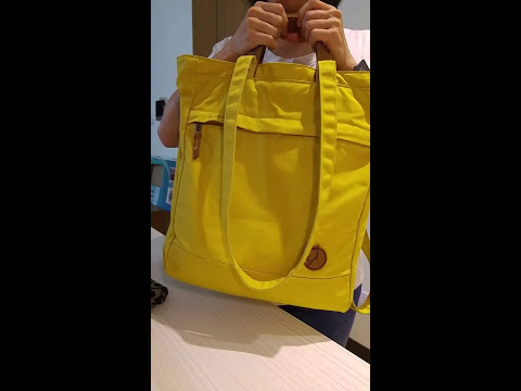 Fjallraven Totepack No.1 Review by Sandra