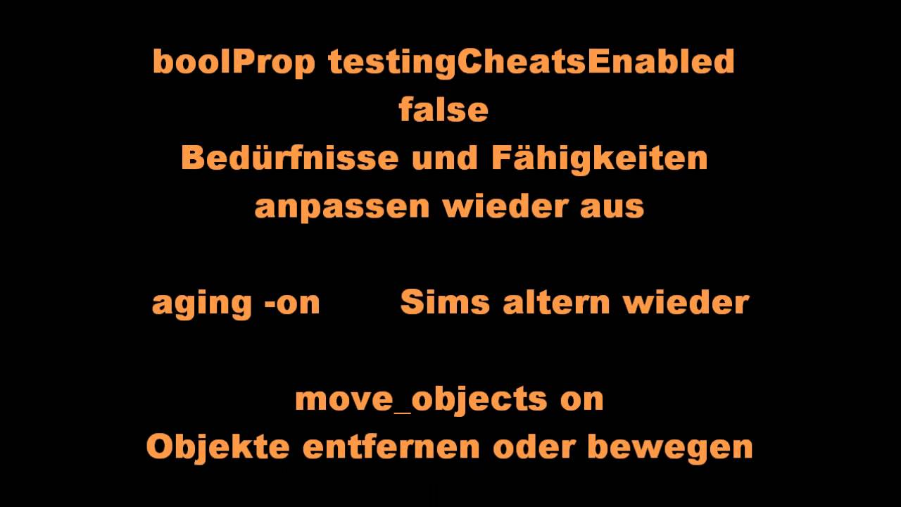 Die Sims 2 Cheats (PC) 2.0 - YouTube