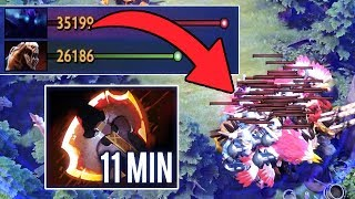 Alohadance Dota 2 [Spectre] Farm like Hack Gold 11 Min BattleFury WTF Game