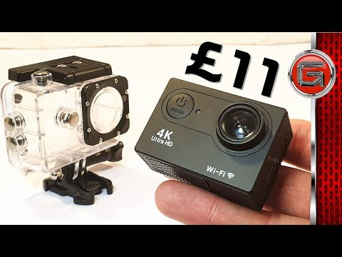 £11 SJ9000 4k Action Cam Review - Is It Worth It? | Fake GoPro