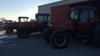 CaseIH Magnum 7120, 7130 and 7140 Tractors Sold on Ohio Farm Auction