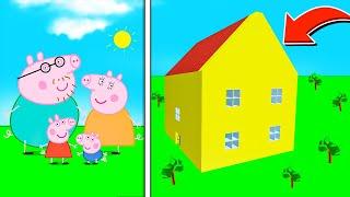ROBLOX PIGGY PEPPA PIG HOUSE MAP! (Piggy Build Mode)