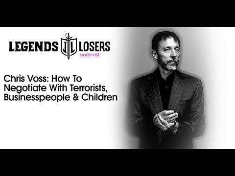 057: Chris Voss: How To Negotiate With Terrorists, Businesspeople & Children