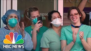 'The Virus Has Not Discriminated:' Medical Workers Speak From Frontlines | NBC News NOW