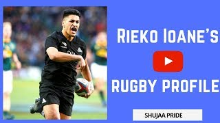 Rieko Ioane - Rugby Profile | Highlights | Tribute | Interview | All Blacks| Best Tries | Speed 2018