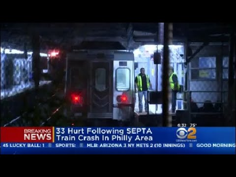 33 Hurt Following SEPTA Train Crash In Philly Area