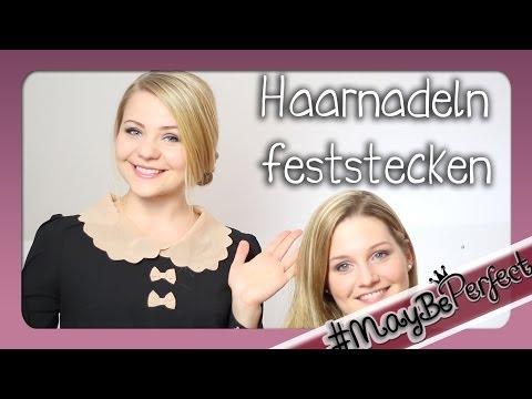 Haarnadeln Richtig Feststecken - Tipps & Tricks | #MayBePerfect