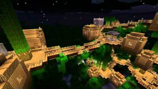 Minecraft - Jungle Tree Village