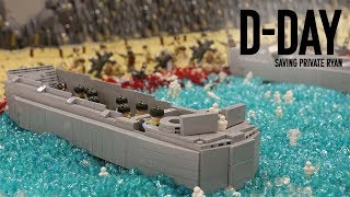 Lego D-Day MOC from Saving Private Ryan | Brickfair VA collab with LegoBoy12